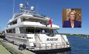 DeVos yacht