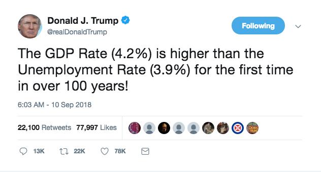Trump Tweet w extra zero