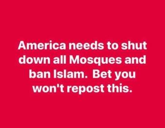 Banning religion