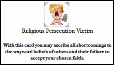 Prosecution card