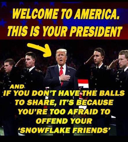 Trump is pres