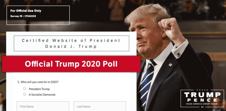 Trump survey