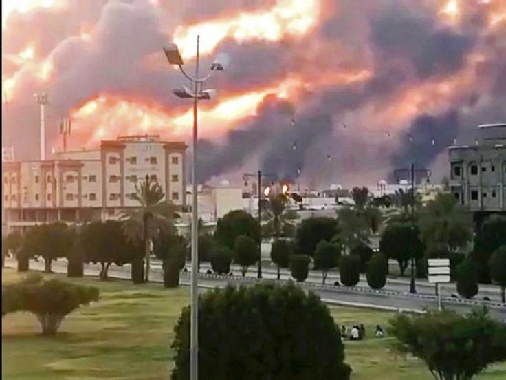 Saudi oil facility